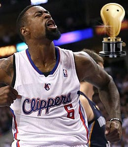 DeAndre Jordan is a big part of Lob City for the Los Angeles Clippers.