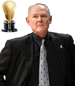 George Karl led the Denver Nuggets to a franchise record in wins.