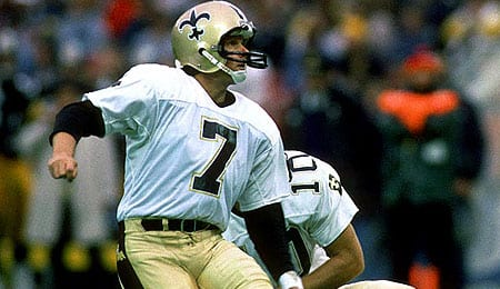 Morten Andersen was a star for the New Orleans Saints.