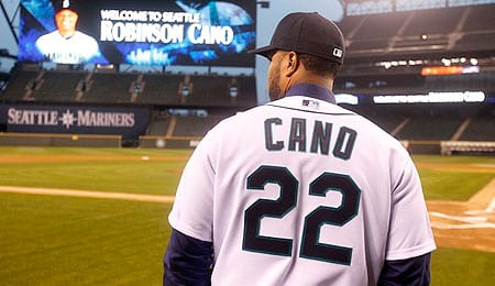 Robinson Cano brings his act to the Seattle Mariners.