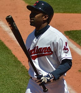 Michael Bourn has a hamstring issue for the Cleveland Indians.