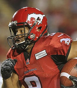 Jon Cornish had a brilliant season for the Calgary Stampeders.