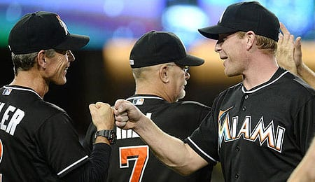Randy Wolf will try to fill some big shoes for the Miami Marlins.
