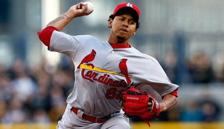 Carlos Martinez will soon be starting for the St. Louis Cardinals.