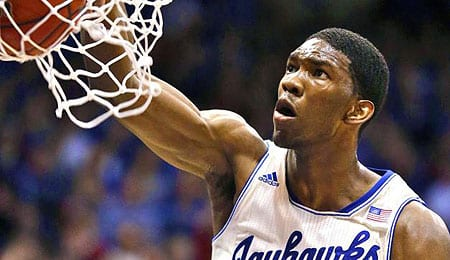 Joel Embiid is drawing interest from the Cleveland Cavaliers.