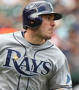 Matt Joyce has a career game for the Tampa Bay Rays.