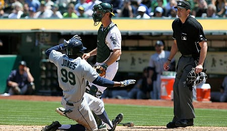 James Jones has been playing well for the Seattle Mariners.