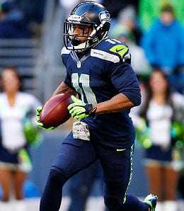 Percy Harvin is injury prone for the Seattle Seahawks.