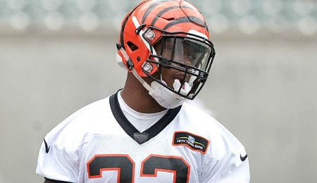Jeremy Hill is setting a nice pace for the Cincinnati Bengals.
