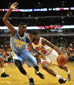 Aaron Brooks is the only PG left standing for the Chicago Bulls.