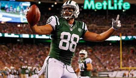 Jace Amaro came up big early on for the New York Jets.
