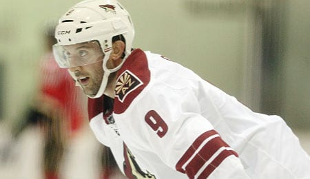 Sam Gagner is heating up for the Arizona Coyotes.