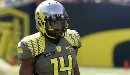 Ifo Ekpre-Olomu was an All-American was for the Oregon Ducks.