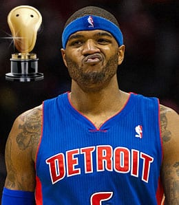 Josh Smith again stunk it up for the Detroit Pistons.