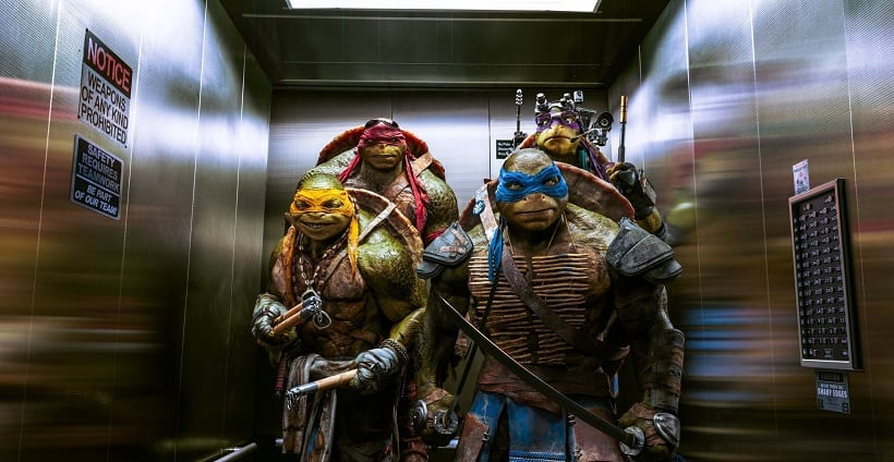 Teenage Mutant Ninja Turtles Blue-Ray