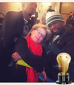 Kobe Bryant, 50 Cent and Meryl Streep together at last!