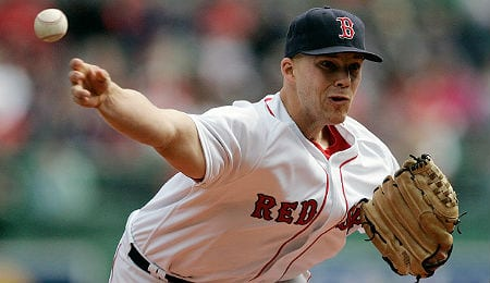Justin Masterson has been the weak link for the Boston Red Sox.