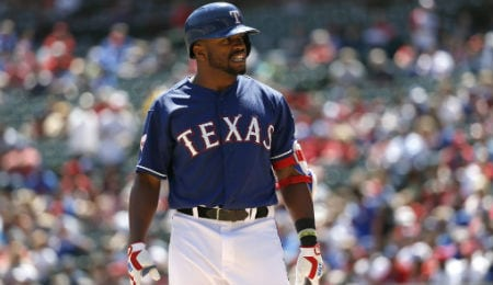 Delino DeShields was a revelation for the Texas Rangers.