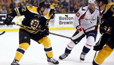 Frank Vatrano is making his mark for the Boston Bruins as a rookie.