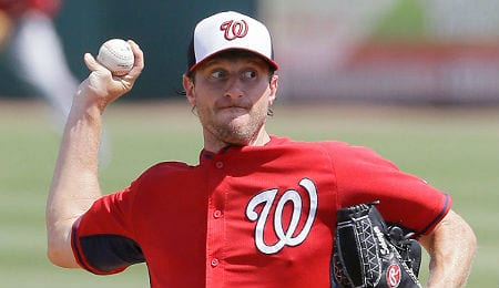 Max Scherzer quickly became the ace of the Washington Nationals.
