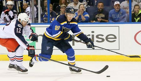 Paul Stastny is one of several injured players for the St. Louis Blues.