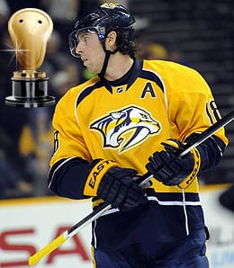 James Neal sure knows how to act for the Nashville Predators.