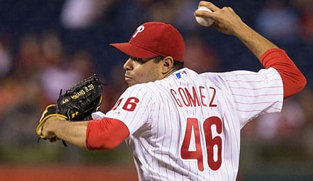 Jeanmar Gomez has gotten his chance to close for the Philadelphia Phillies.