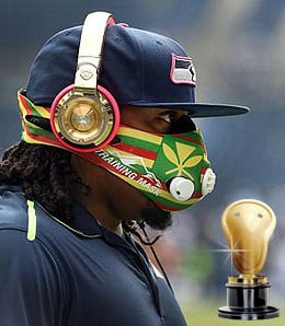 Marshawn Lynch sure has star power for the Seattle Seahawks.