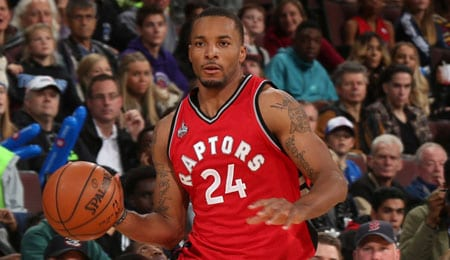 Norman Powell is now starting for the Toronto Raptors.