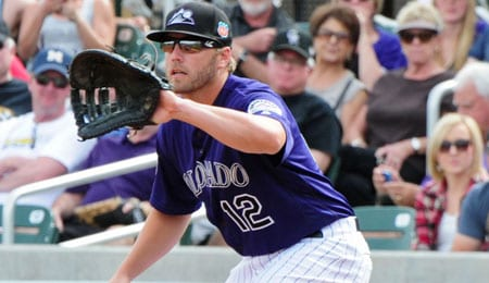 Mark Reynolds has revitalized his career with the Colorado Rockies.