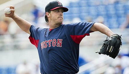 Steven Wright has been perhaps the most consistent starter for the Boston Red Sox so far.