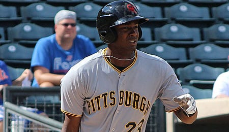 Josh Bell is ready to join the Pittsburgh Pirates.