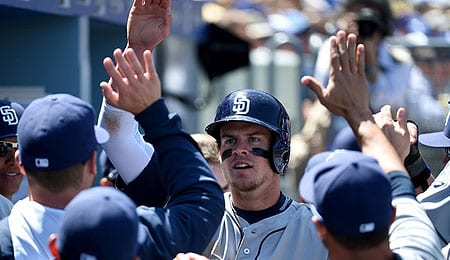 Wil Myers is enjoying a career year for the San Diego Padres.