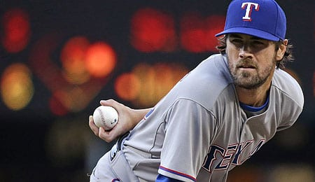 Cole Hamels has become a consistent winner for the Texas Rangers.