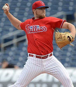 Jake Thompson had a rough debut for the Philadelphia Phillies.