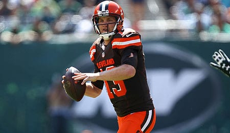 Josh McCown looked good for the Cleveland Browns in Week Two.