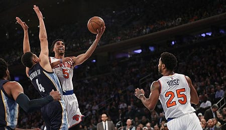 Courtney Lee has given the New York Knicks what they need.