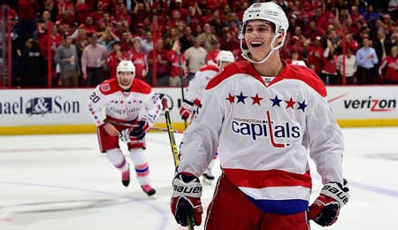 Andre Burakovsky is started to really roll for the Washington Capitals.