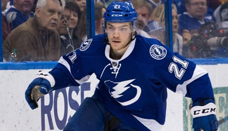 Brayden Point is enjoying life on the top line for the Tampa Bay Lightning.