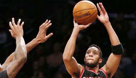 Evan Turner will return to action for the Portland Trail Blazers.