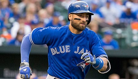 Kevin Pillar sure knows how to pick in it centre field for the Toronto Blue Jays.