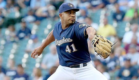 Junior Guerra will be rejoining the Milwaukee Brewers soon.