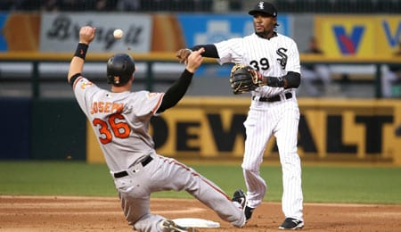 Alen Hanson is playing well for the Chicago White Sox.