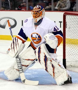 Jaroslav Halak has taken over as the main man in the New York Islanders net.