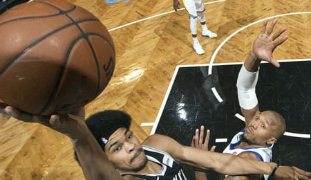 Jarrett Allen is starting to get more action for the Brooklyn Nets.