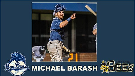 Michael Barash is having an All-Star season in the minors for the Los Angeles Angels.