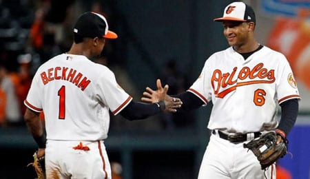 Tim Beckham could prove valuable to the Baltimore Orioles in the second half.