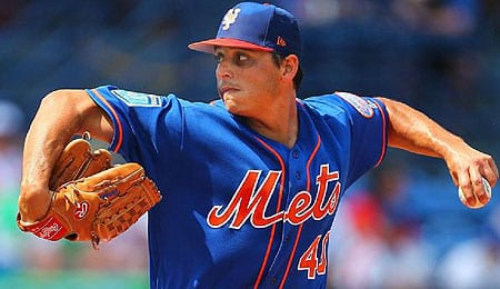 Jason Vargas has come off the DL for the New York Mets.