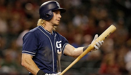 Travis Jankowski is going to play more for the San Diego Padres.