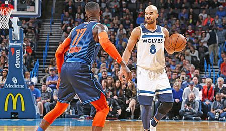 Jerryd Bayless is now running the point for the Minnesota Timberwolves.